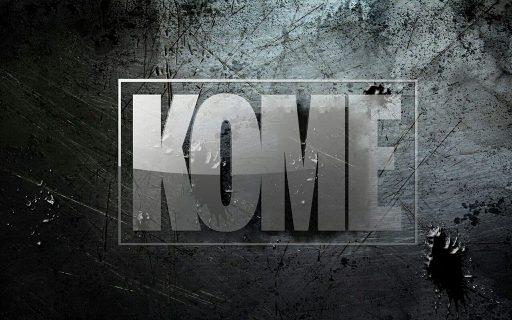 Kome logo Shadow
