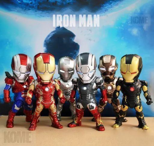 Mô hình Ironman Bộ 01